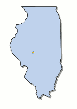 Illinois is the 21st state admitted to the united states