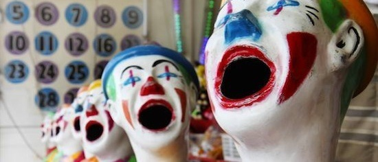clown heads