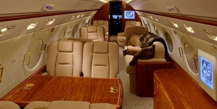 Rush Limbaugh's plane (interior)