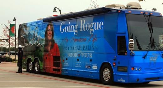 Sarah Palin's campaign bus