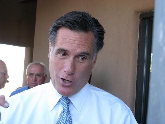 Romney Santorum's Response to Question on Gay Rights. Rick Santorum and Mitt Romney ...