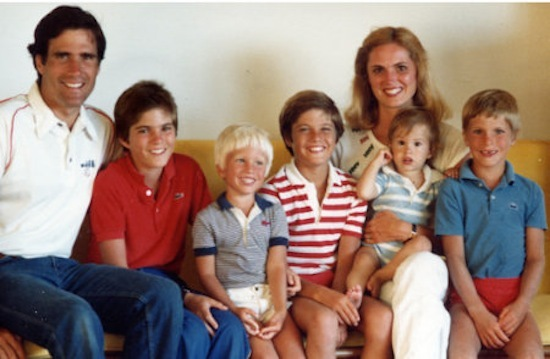 Romney family photo