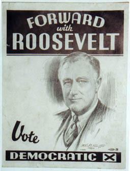 FDR 1936 Poster