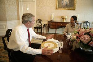 Bush and Condi 2006