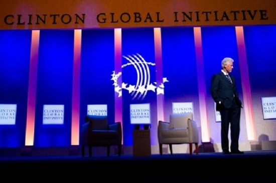Clinton at 2011 CGI