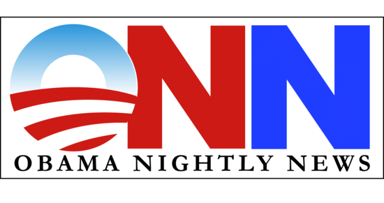 ObamaNightlyNews logo by Eric Lewis