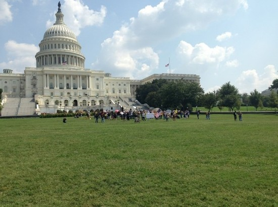 rally on capitol steps Benghazeeeee