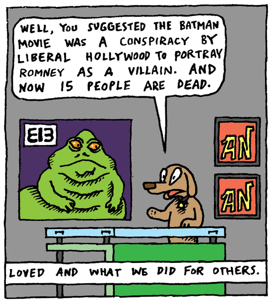 Animal Nuz comic strip #106 by Eric Lewis panel 3