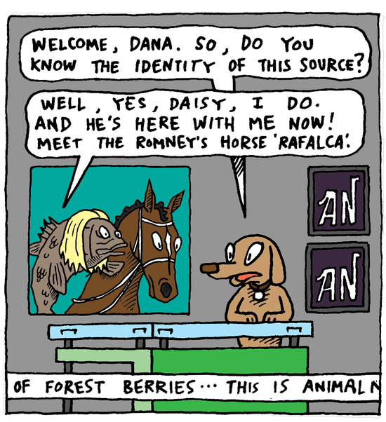 Comic Strip panel 2 by Eric Lewis