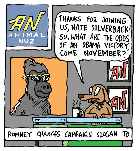 Animal Nuz comic #112 by Eric Lewis panel 1