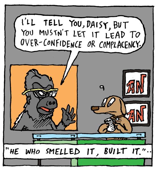 Animal Nuz comic #112 by Eric Lewis panel 2