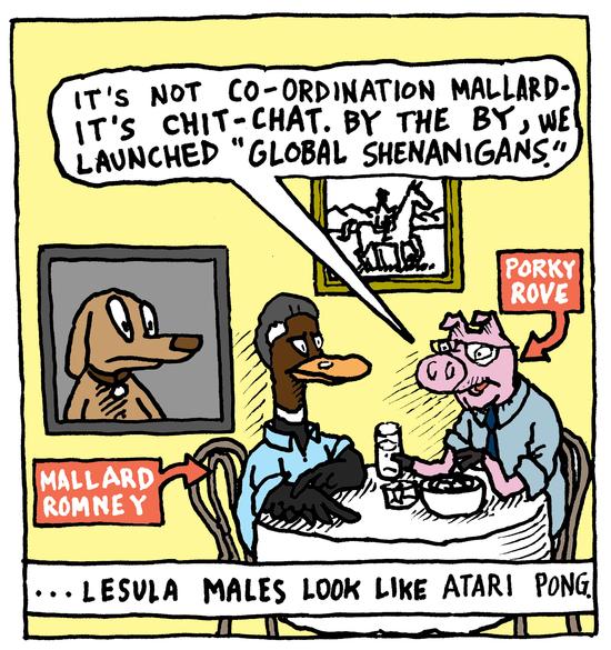 Animal Nuz comic #114 by Eric Lewis panel 2