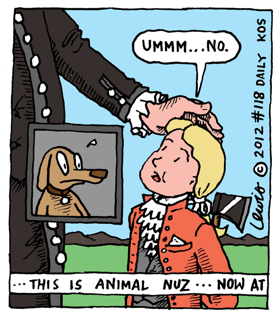 Animal Nuz Comic Strip #118 by Eric Lewis panel 3