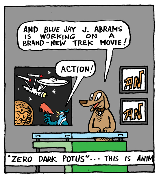 Animal Nuz cartoon #126 by Eric Lewis, panel 4