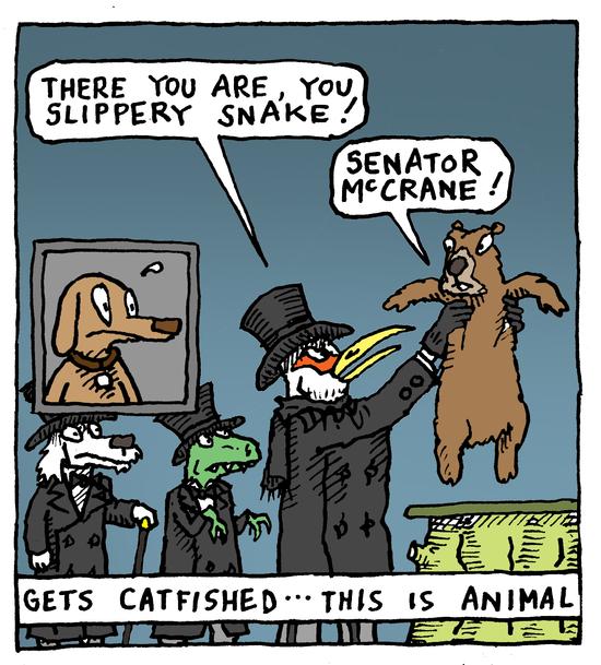 Animal Nuz comic strip #134 by Eric Lewis panel 2
