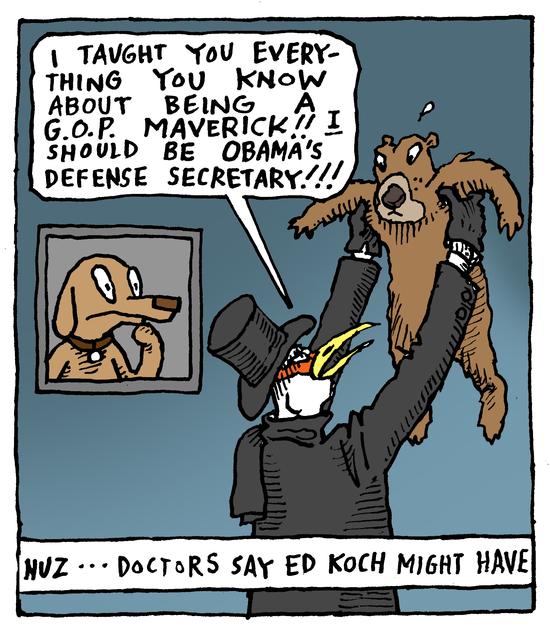 Animal Nuz comic strip #134 by Eric Lewis panel 3
