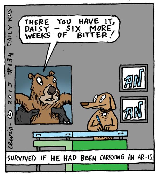 Animal Nuz comic strip #134 by Eric Lewis panel 4