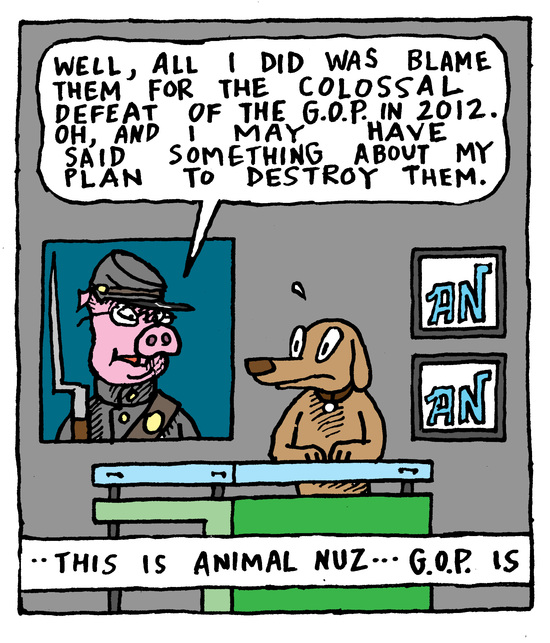 Animal Nuz comic #135 by Eric Lewis panel 3