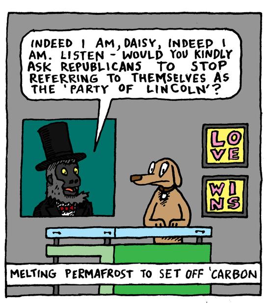 Animal Nuz comic #137 by Eric Lewis panel 2