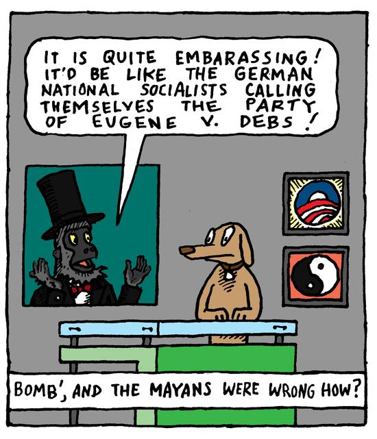 Animal Nuz comic #137 by Eric Lewis panel 3