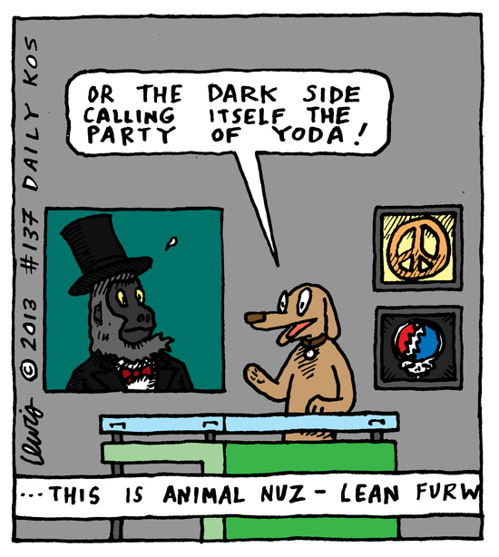 Animal Nuz comic #137 by Eric Lewis panel 4