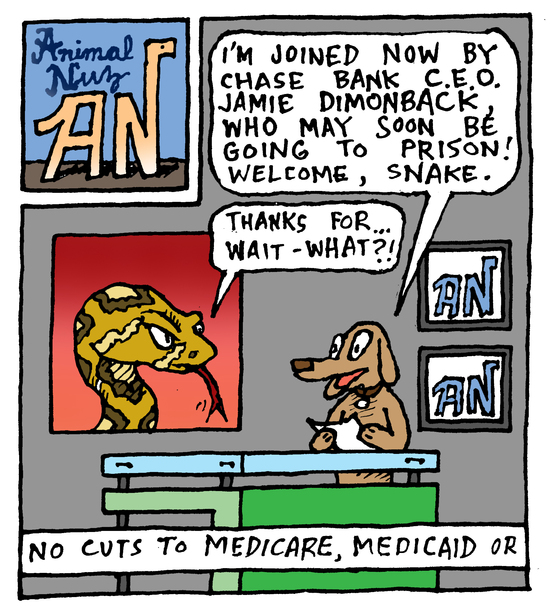 Animal Nuz comic #140 by Eric Lewis panel 1