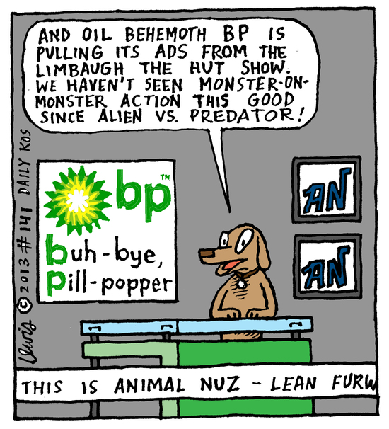 Animal Nuz comic #141 by Eric Lewis panel 4