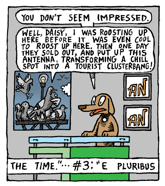 Animal Nuz comic #148 by Eric Lewis, panel 3