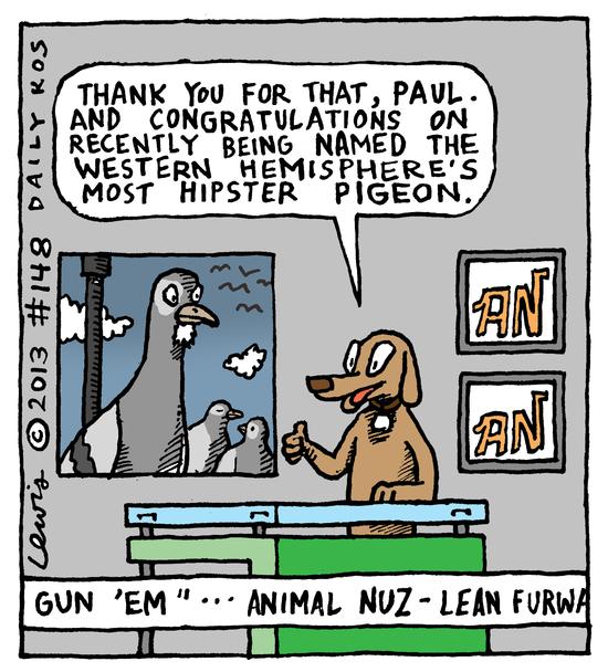 Animal Nuz comic #148 by Eric Lewis, panel 4