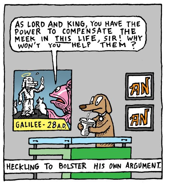 Animal Nuz comic #150 by Eric Lewis panel 2