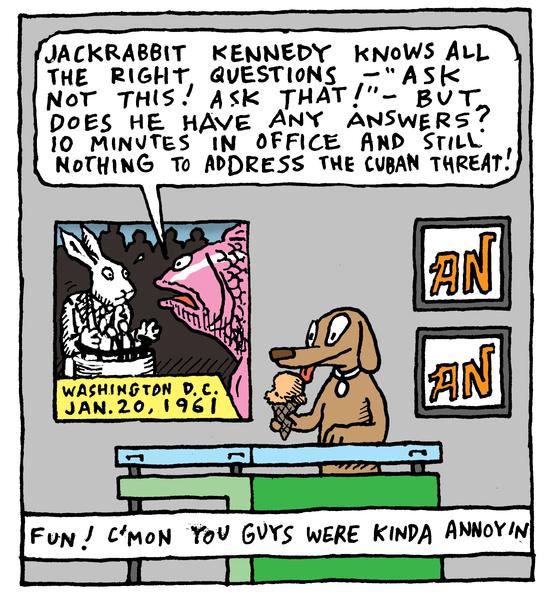 Animal Nuz comic #150 by Eric Lewis panel 4