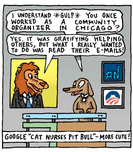 Animal Nuz comic by Eric Lewis #154 panel 2