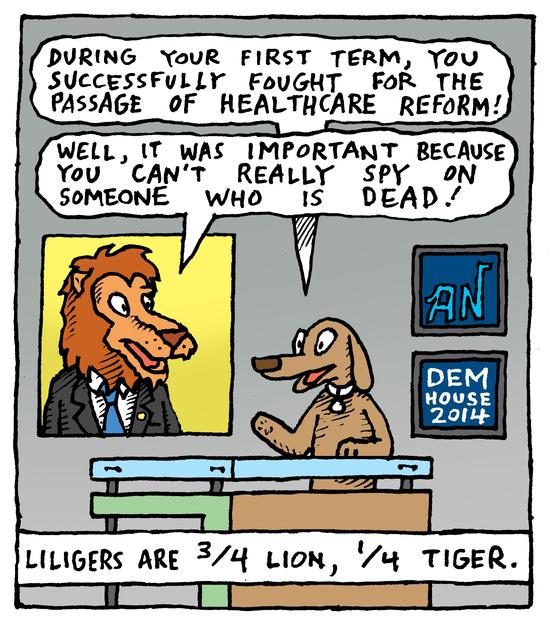 Animal Nuz comic by Eric Lewis #154 panel 3