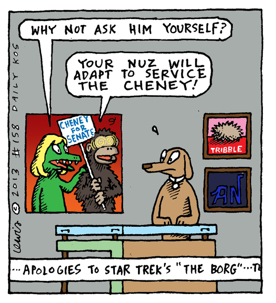 Animal Nuz comic #158 by Eric lewis panel 4