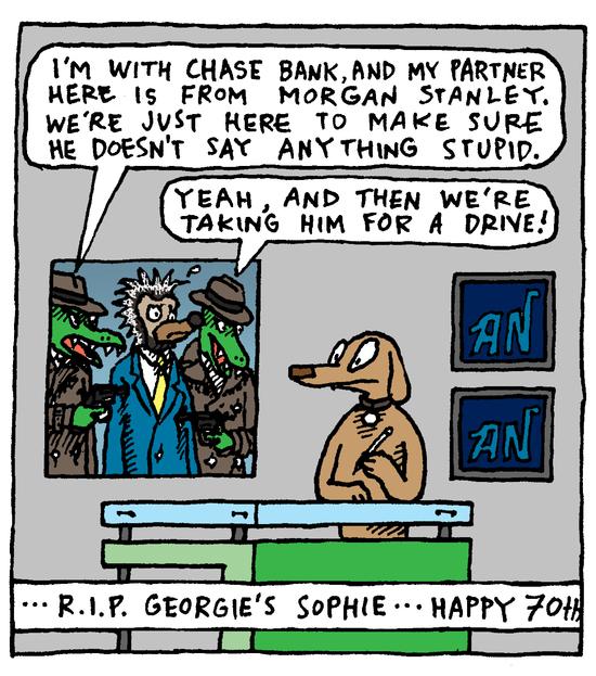 Animal Nuz comic #159 by Eric Lewis panel 2