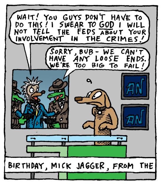 Animal Nuz comic #159 by Eric Lewis panel 3