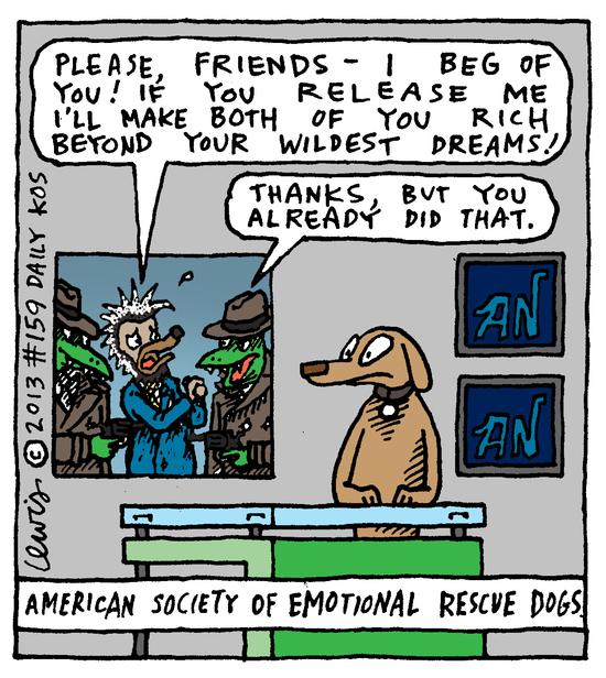 Animal Nuz comic #159 by Eric Lewis panel 4