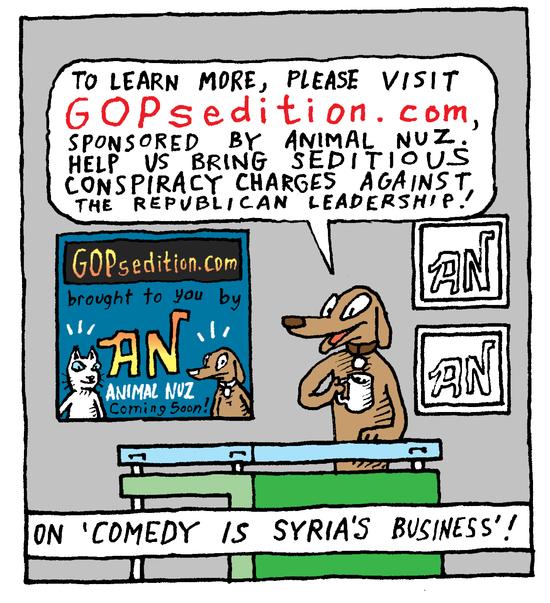 Animal Nuz comic #164 b y Eric Lewis panel 4