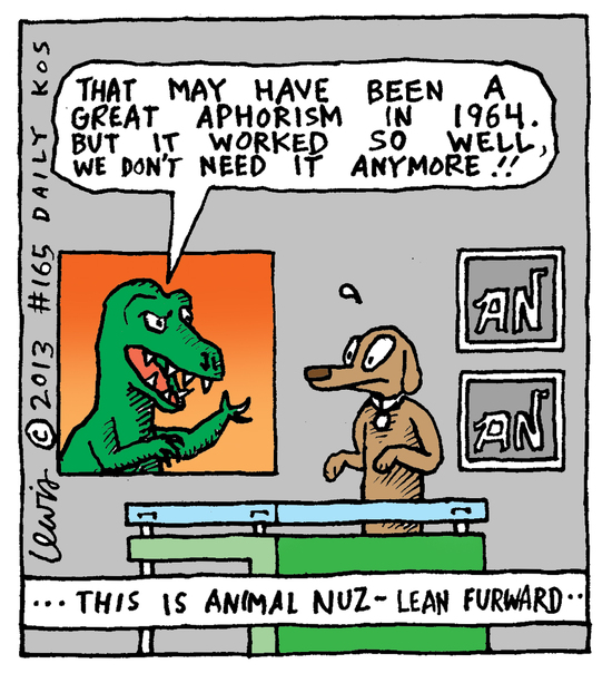 Animal Nuz comic #165 by Eric Lewis panel 4