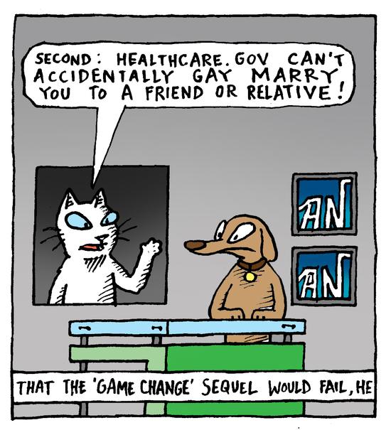 Animal Nuz comic #172 by Eric Lewis panel 2