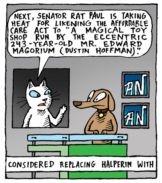 Animal Nuz comic #172 by Eric Lewis panel 3