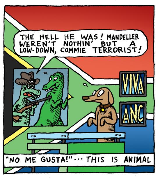 Animal Nuz comic #177 by Eric Lewis panel 2