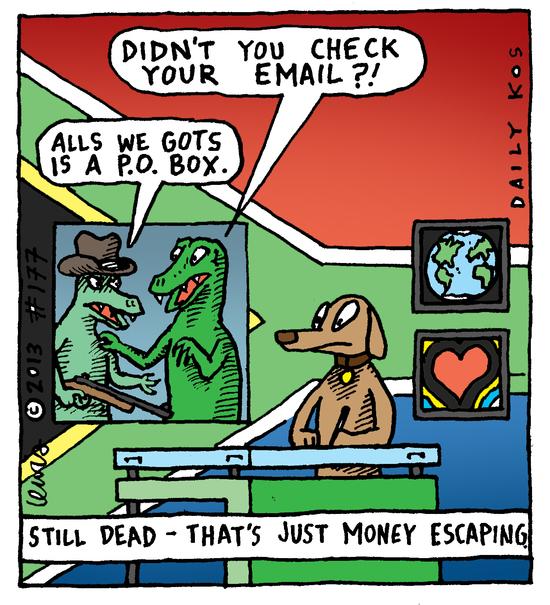 Animal Nuz comic #177 by Eric Lewis panel 4