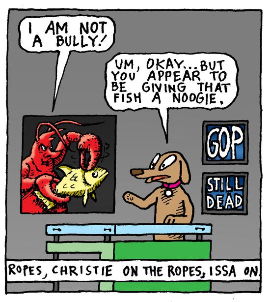 Animal Nuz comic #182 by Eric Lewis panel 2