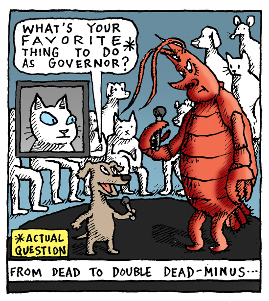 Animal Nuz comic #183 by Eric Lewis panel 2