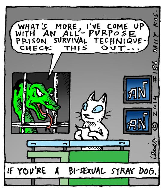Animal Nuz comic #186 by Eric Lewis panel 3