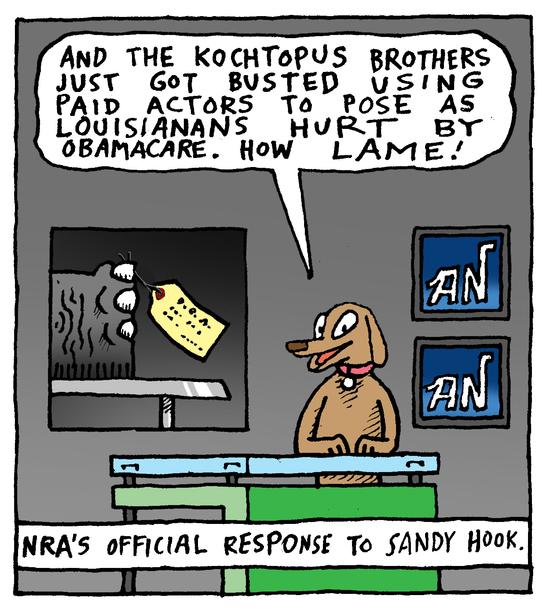 Animal Nuz comic #187 by Eric Lewis panel 4