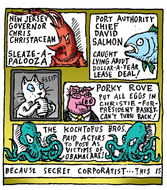 Animal Nuz comic #188 by Eric lewis panel 2