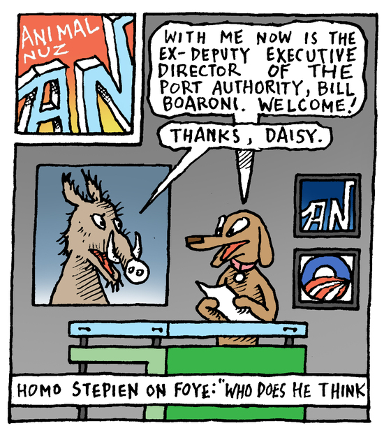 Animal Nuz comic #189 by Eric Lewis panel 1