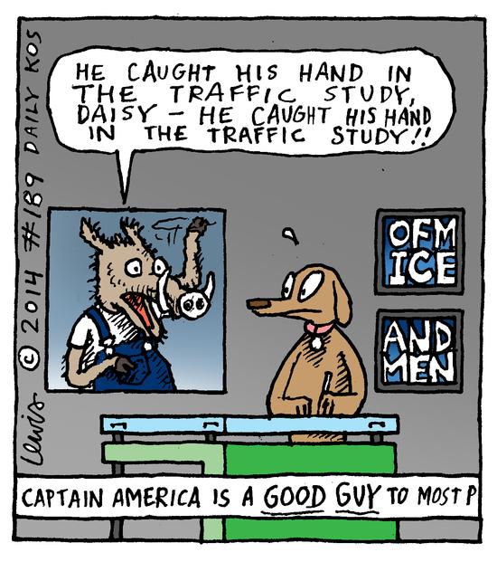 Animal Nuz comic #189 by Eric Lewis panel 4